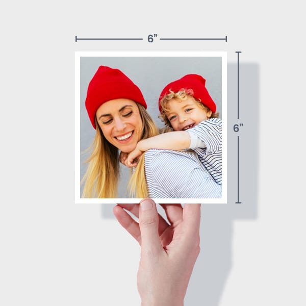 Order Small Square Photo Prints Online - 6x6