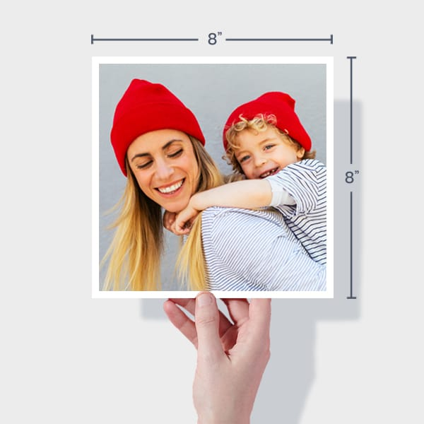 Order Small Square Photo Prints Online - 8x8