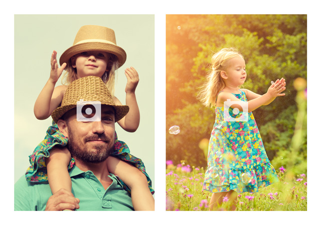 Create a personalised photo card Blank 2 No Text