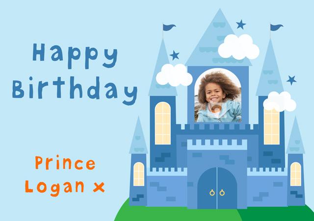 Create a Real Photo Prince Castle Card