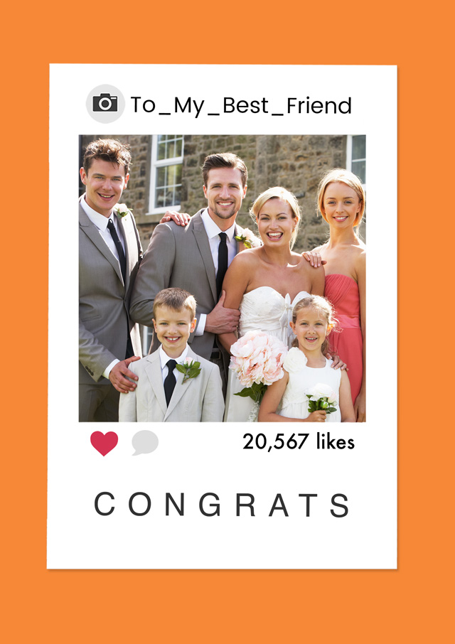 Create a Real Photo Polaroid Congrats Card