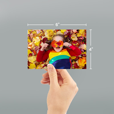 "6""x4"" Photo Prints With Dimensions"