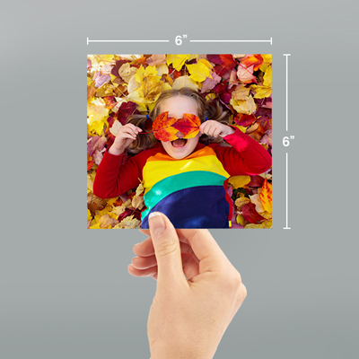 6x6 Photo Prints With Dimensions