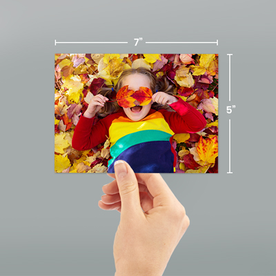 7x5 Photo Prints With Dimensions