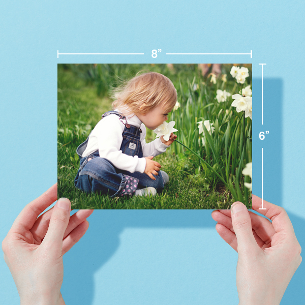 8x6 Photo Prints With Dimensions
