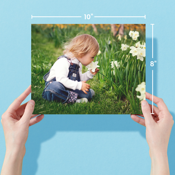 10x8 Photo Prints With Dimensions