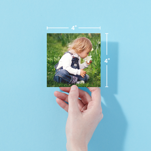 4x4 Photo Prints With Dimensions