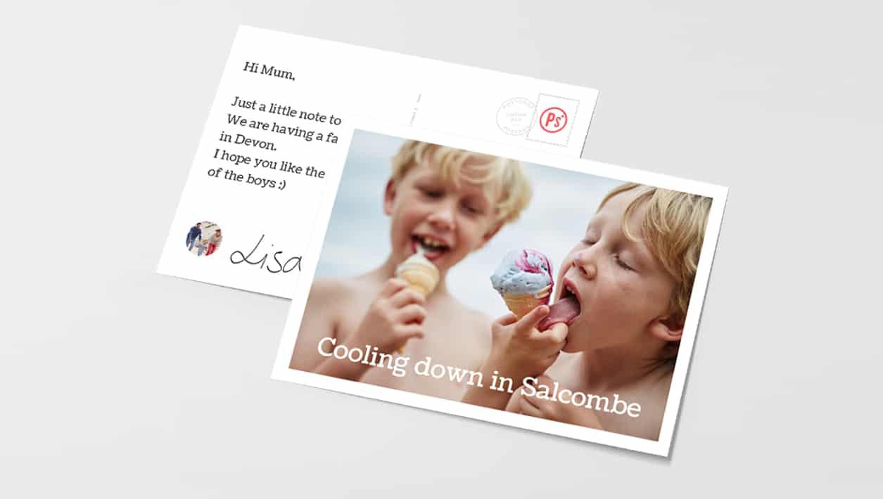 Send Photo Postcards Online with PostSnap