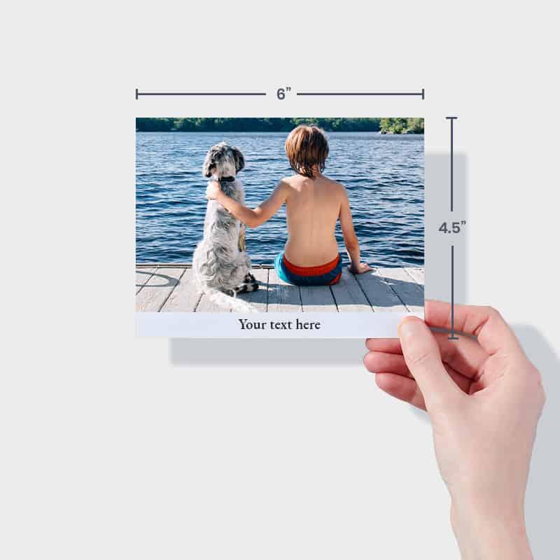 Create photo album prints with PostSnap