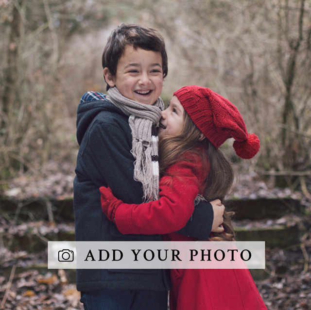 Create a Real Photo Square Photo Card Card