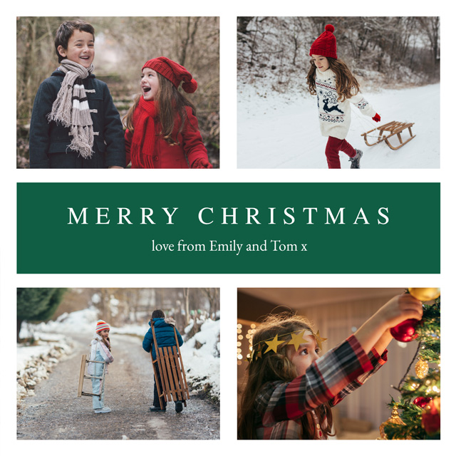 Create a Real Photo Sussex Christmas Card 2021 Card