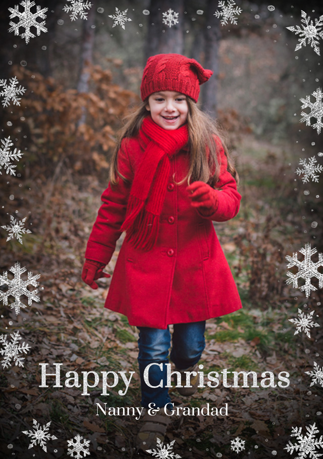 Create a Real Photo Pack Of Photo Christmas Cards Card