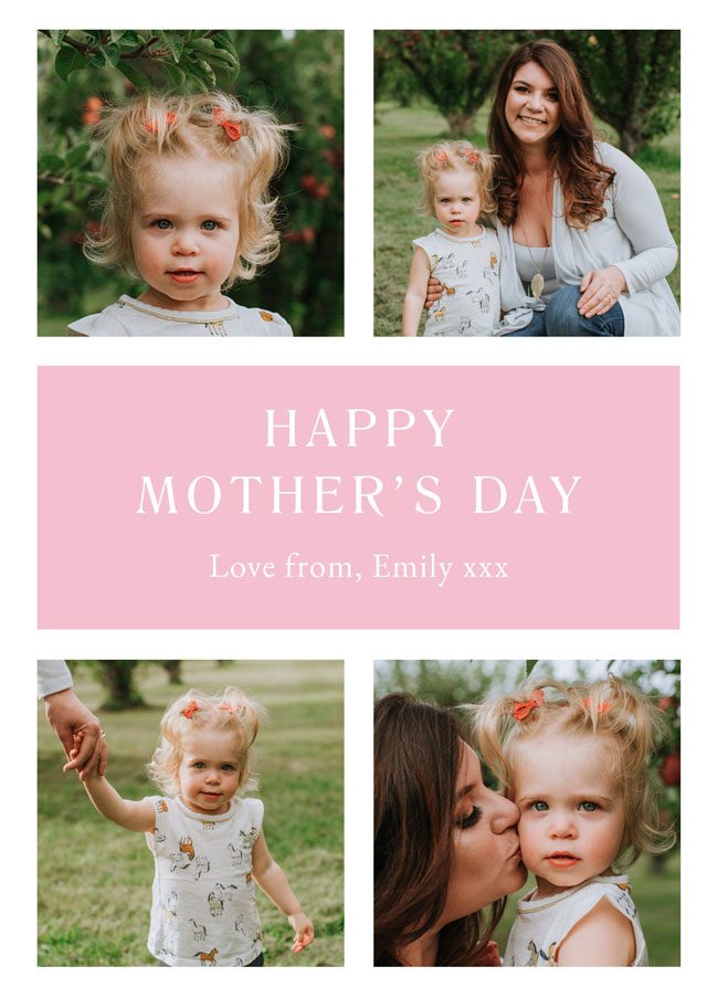 Photo Mother's Day Card Classic