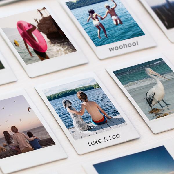mini polaroid size prints