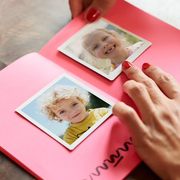 3x3 Photo Prints in Photo Album