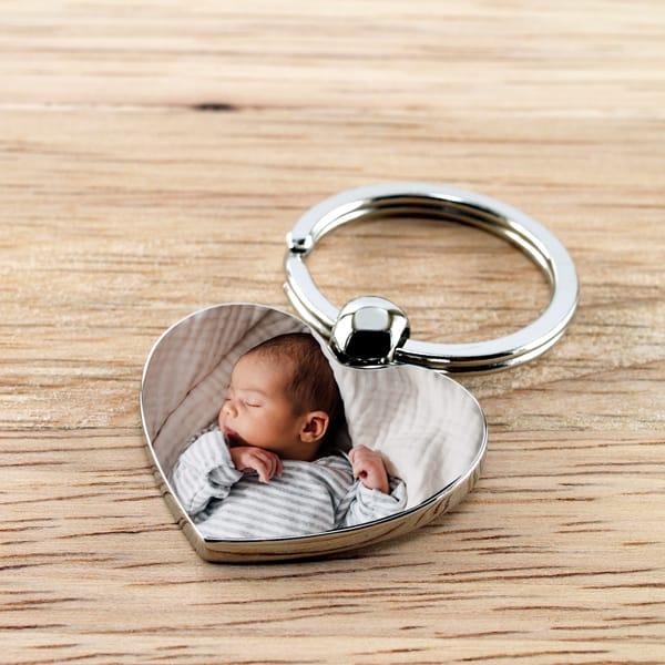 Photo Key Ring - Custom Size Photo Prints