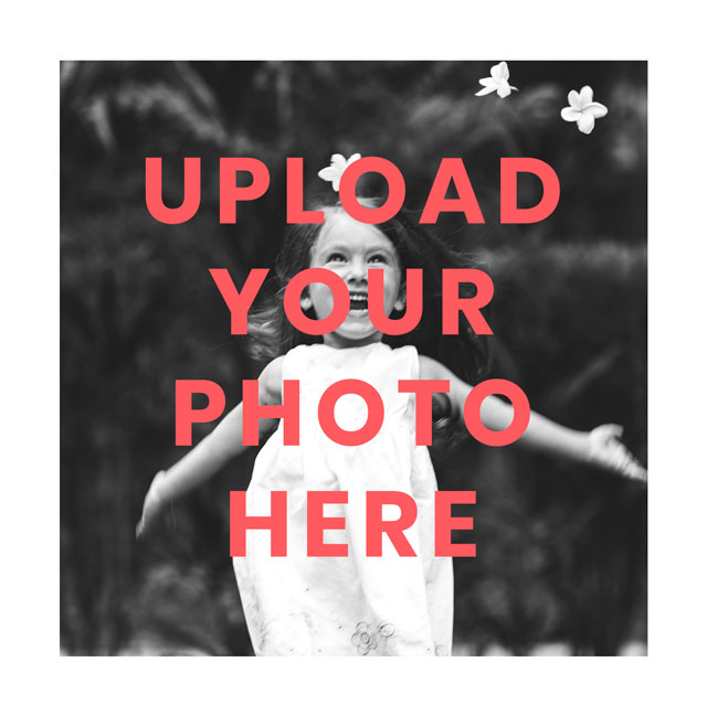 Create a Real Photo Square Photo Card White Border Card