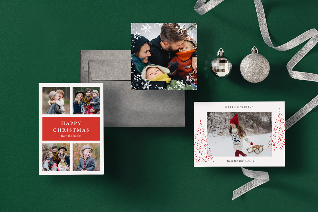 Personalised Christmas Cards 2021