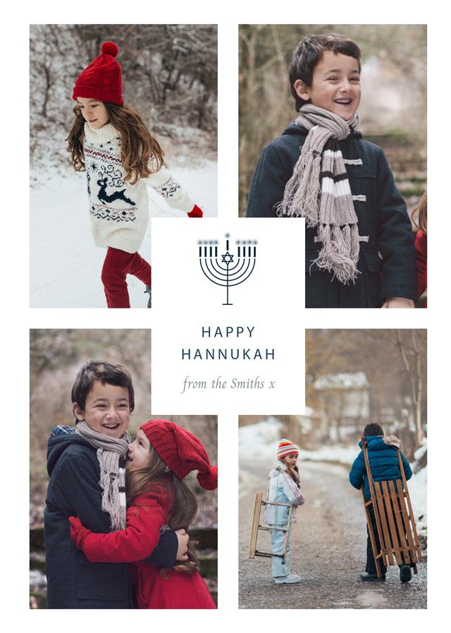 2021 Personalized Hanukkah Card