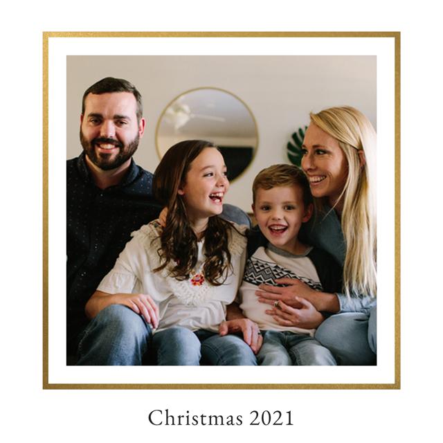 Royal Personalised Christmas Card