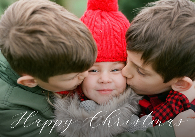 Happy Personalised Christmas Card