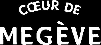 Logo Coeur de Megeve Blanc