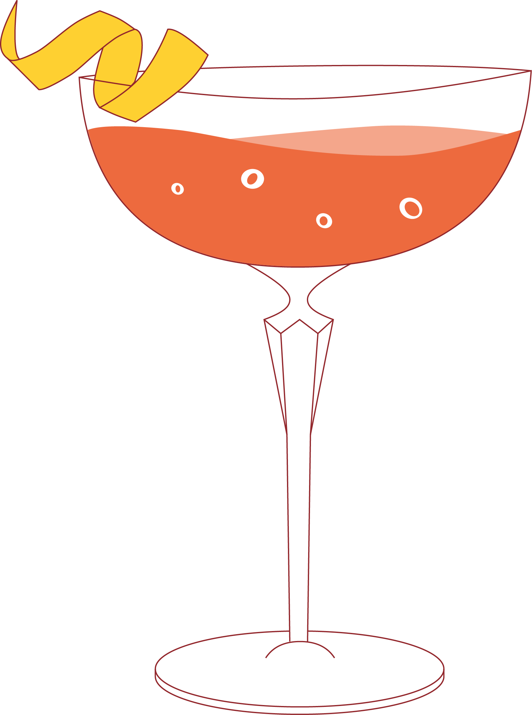 Cocktail Menu Illustration