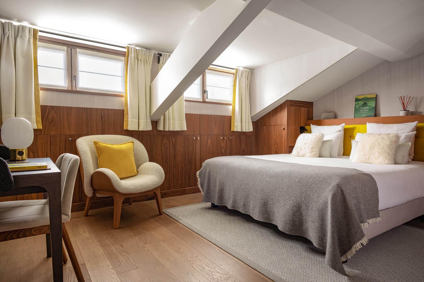 Chambre comfort - mansarde sous les toits
