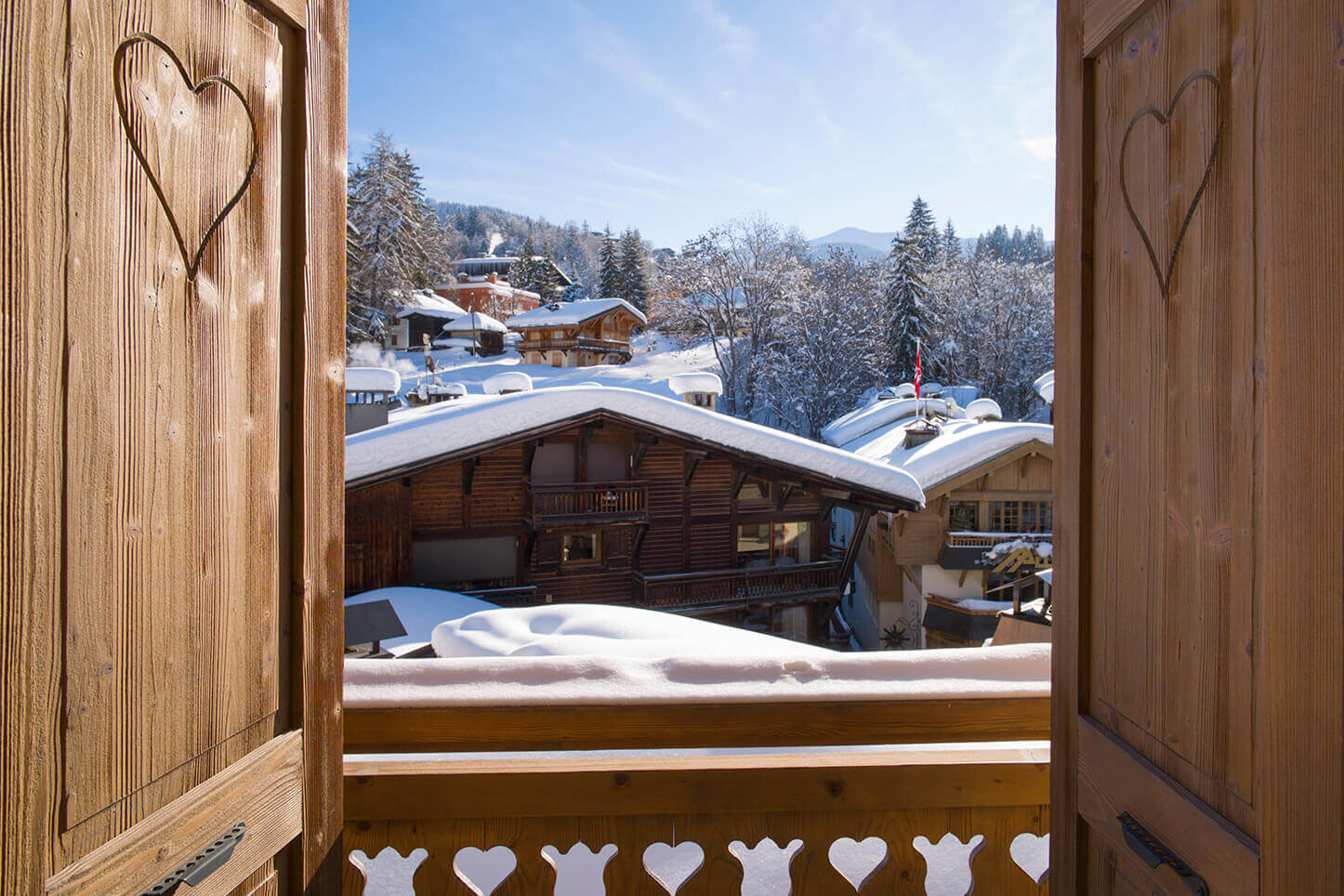 Chambre duplex - vue depuis le balcon
