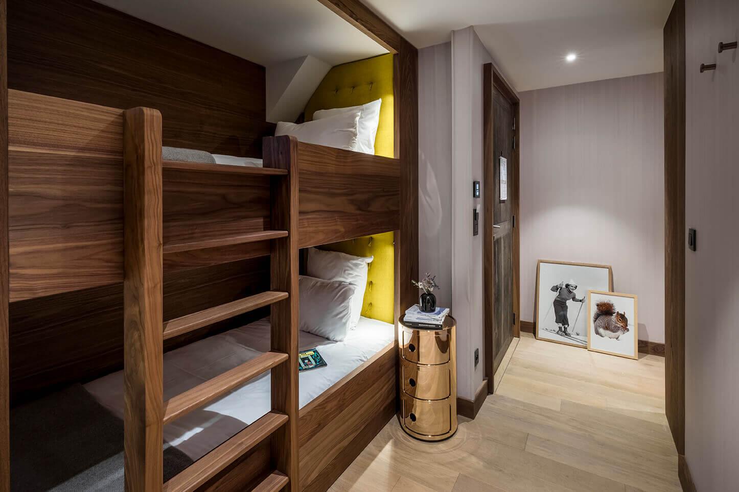 Chambre familiale - chambre des enfants avec lits superposés