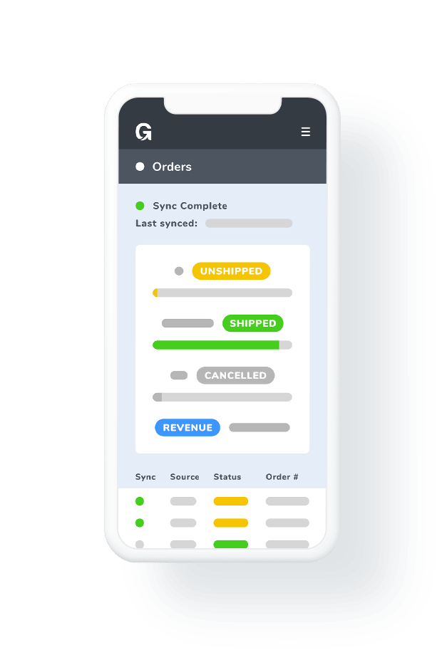 product feed management mobile