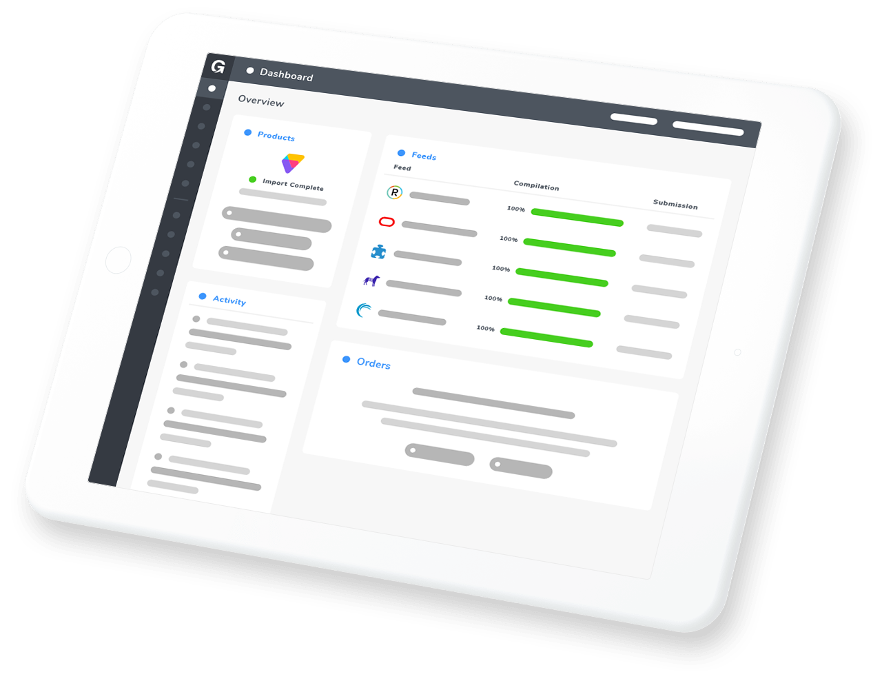 customer engagement product feeds
