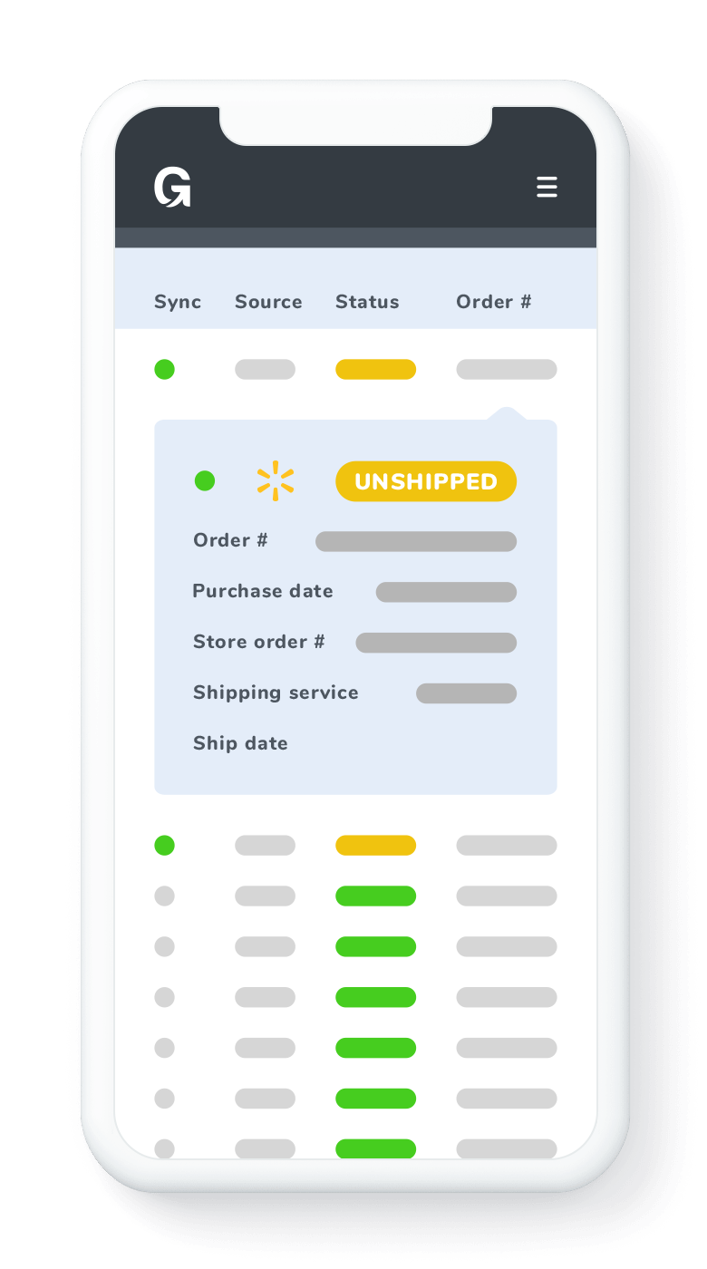 automatically sync walmart orders