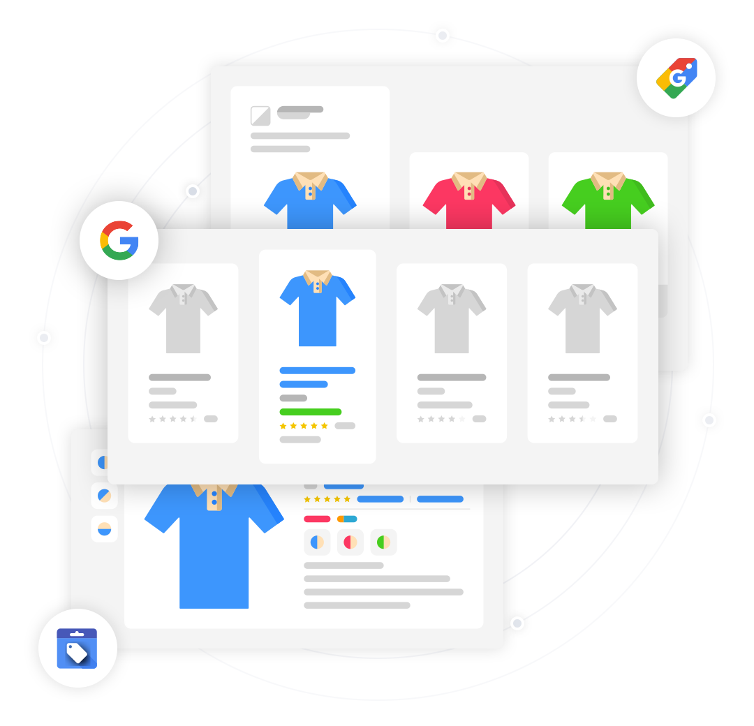 google shopping feed management and automation