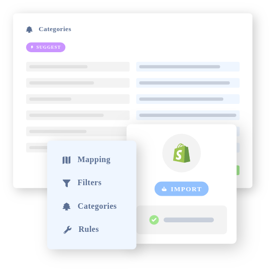 centralize product catalog data