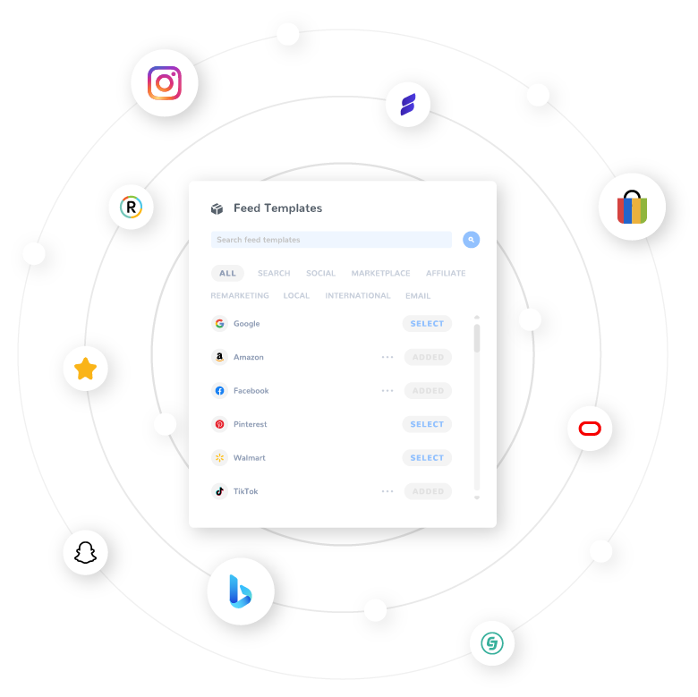 product feeds integration free trial