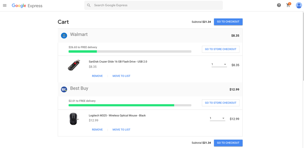 What is Google Express