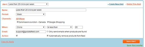 Google Shopping - Performance Alerts