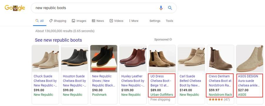 Other Products Show Up for My Brand on Google Shopping