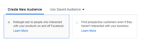 facebook retargeting to help with cart abandonment