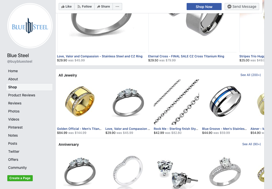 opening a facebook shop