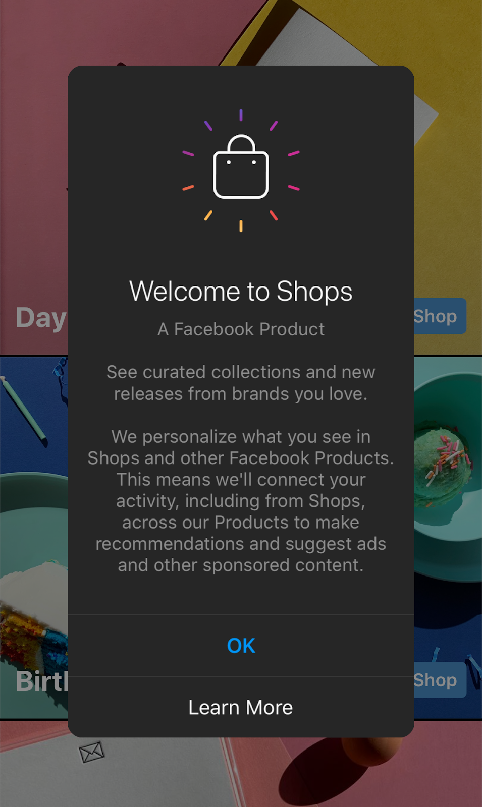 setting up facebook shops