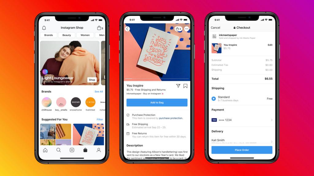 instagram explore shop