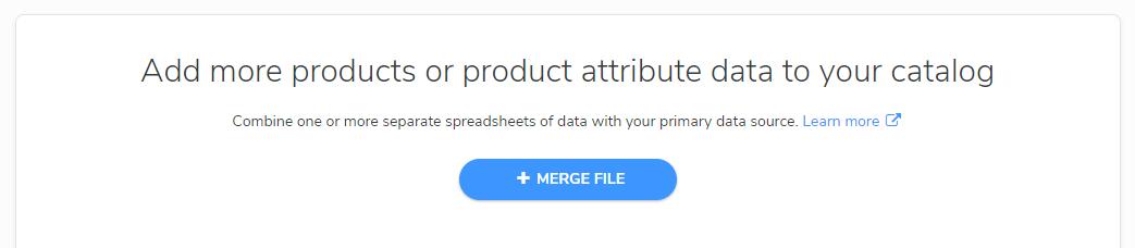 supplemental data add merge file