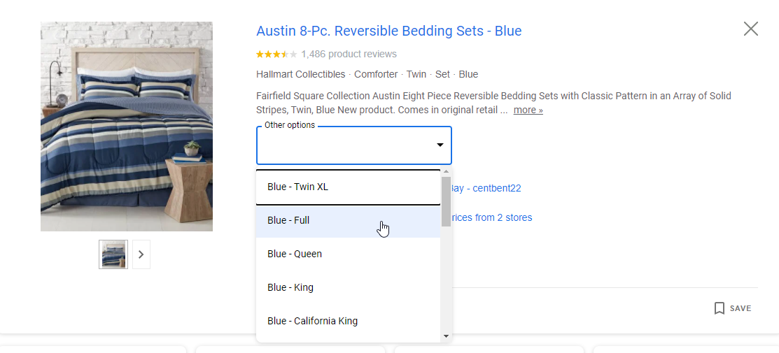 how to set up product variations in google shopping