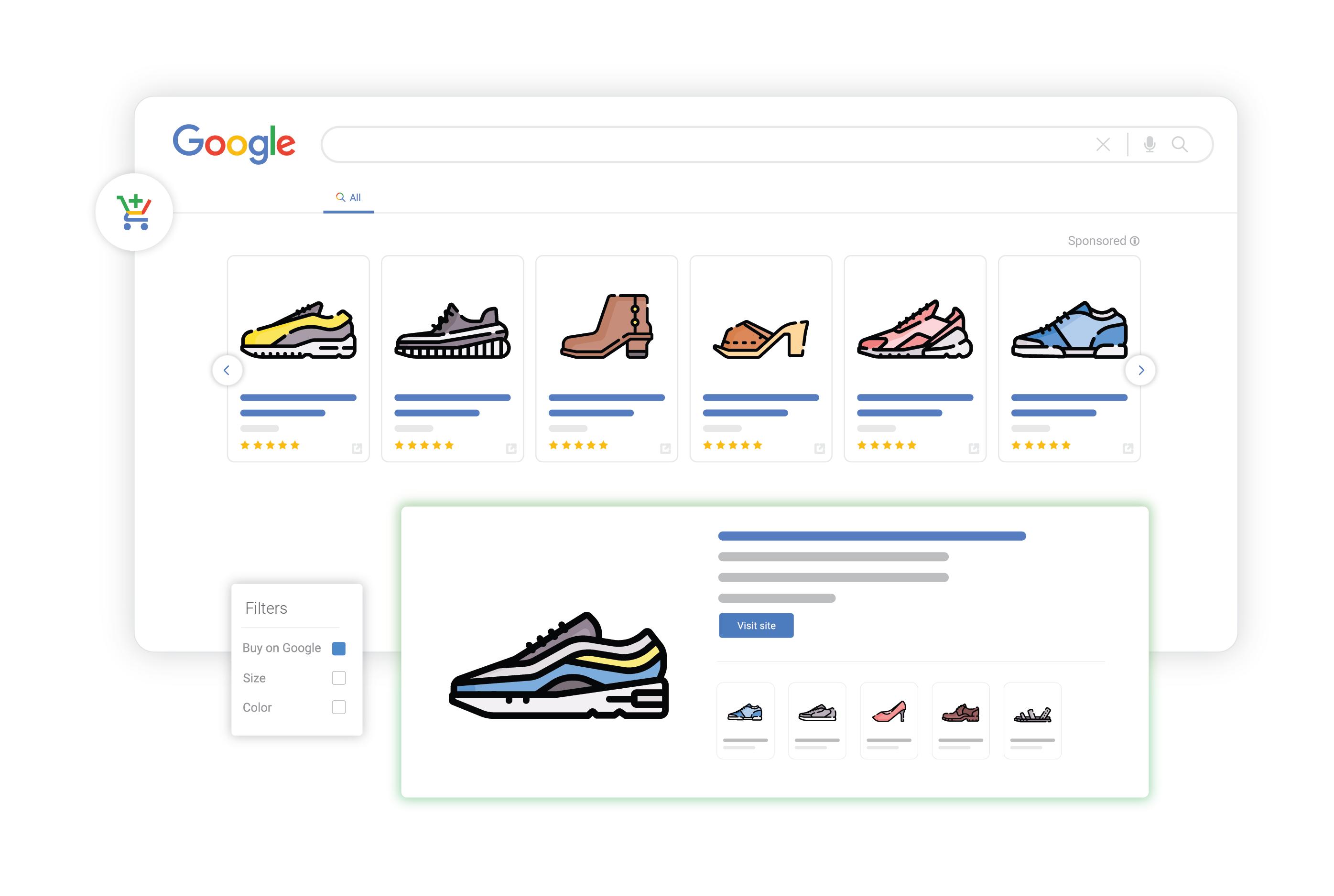 google for retail buy on google listings