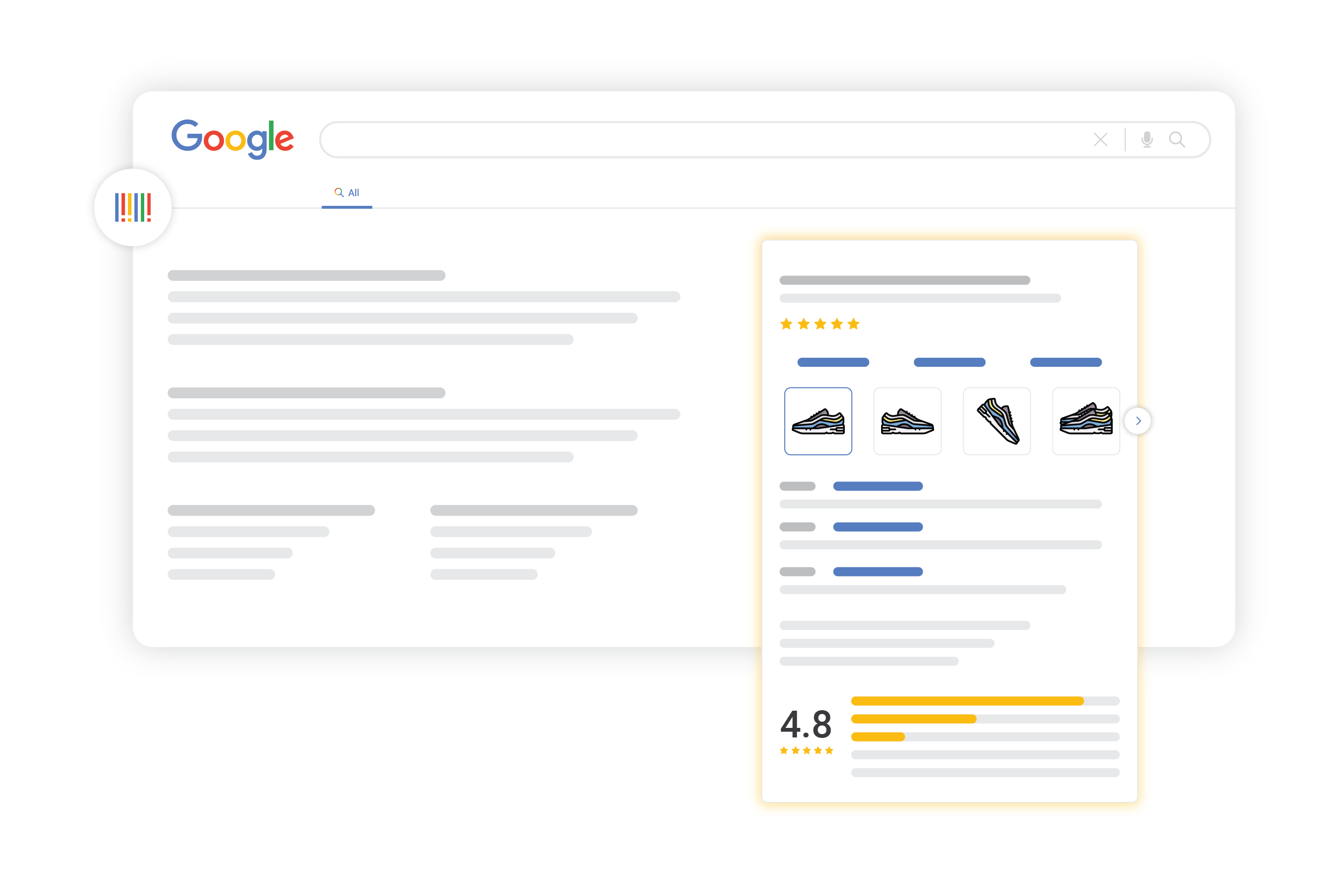 google for retail manufacturer center listings