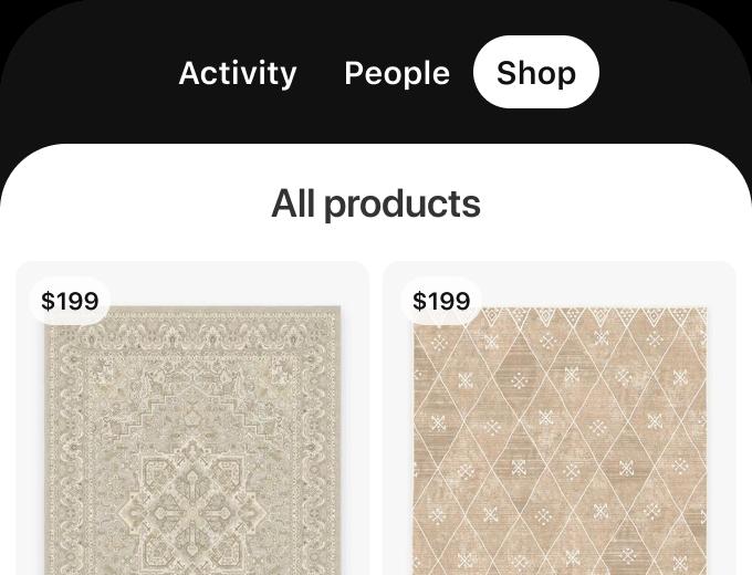 pinterest and ecommerce verified merchant shop tab