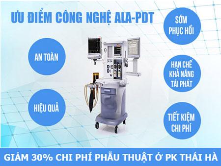 Công nghệ ALA-PDT chữa sùi mào gà