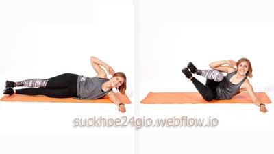 Side Crunch - Bài tập gập bụng nghiêng